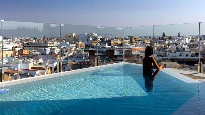 Gran Meliá Colón, nueva piscina con vistas a la Giralda