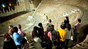 El Teatro Romano se podrá visitar bajo la luz de la luna de agosto