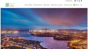 Ferrol estrena su nueva web de promoción turística