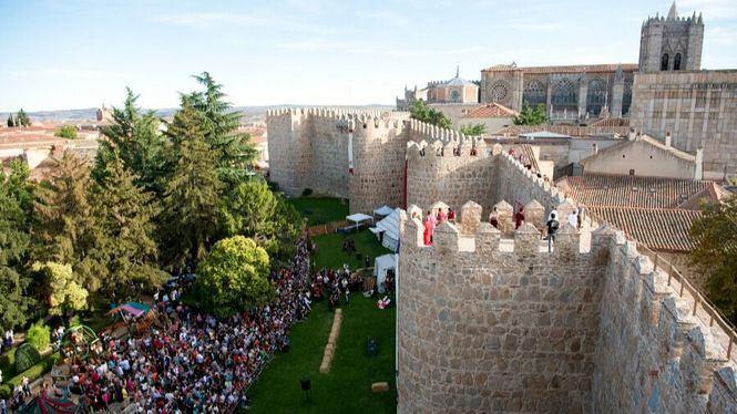 Teatro en las calles de Ávila durante las XXII Jornadas Medievales