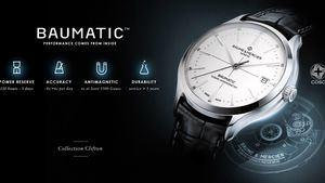 Clifton Baumatic, el nuevo reloj de Baume&Mercier