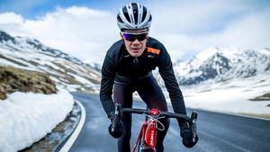 Santini Vega Extreme Jacket la chaqueta para sentirse para un ciclista profesional