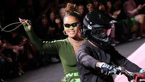 Rihanna cerró la Fashion Week de Nueva York