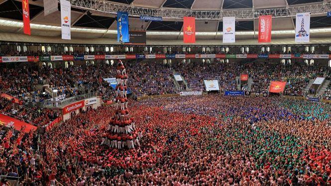 Tarragona celebra el espectáculo de Castells más grande del mundo