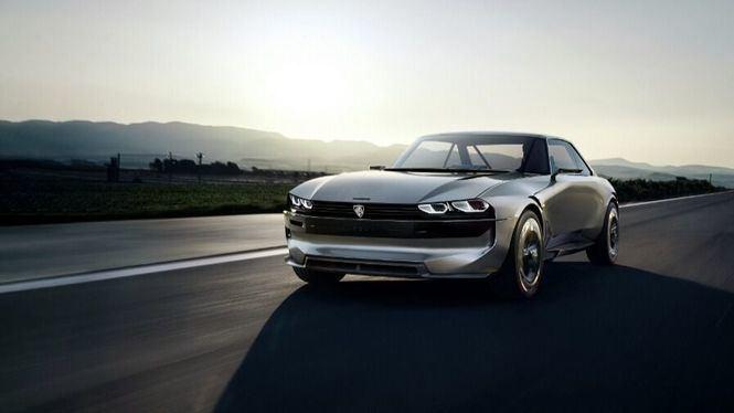 Peugeot presenta el e-Legend Concept en la feria del Automóvil de Paris