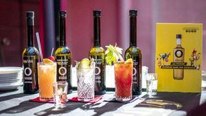 Los cócteles elaborados con aceites de oliva virgen extra de España triunfan en París