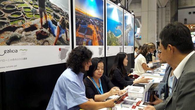 Galicia presenta su oferta turística en la feria Jata de Japón