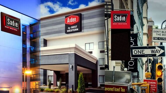 Sadie y Aiden, las dos nuevas marcas para hoteles boutique de Best Western