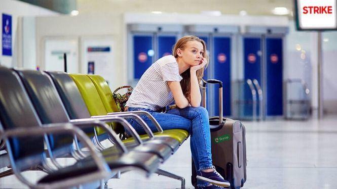 Huelga de Ryanair, una media de 190 vuelos se verán afectados