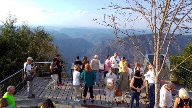 Galicia celebró el Día Mundial del Turismo en la Ribeira Sacra