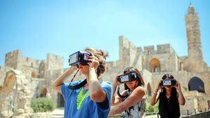 La Torre de David ofrece la oportunidad de volver al pasado a través de realidad virtual