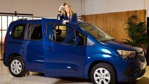 Martina Klein madrina del nuevo Opel Combo Life