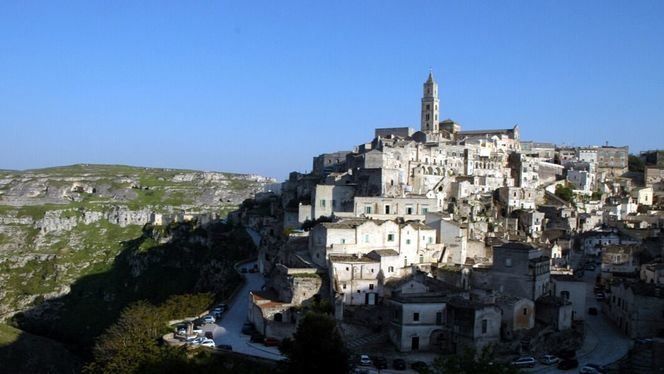 Matera, ciudad italiana cavada en piedra