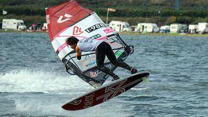 Riccardo Marca, quinto en la clasificación del Circuito Europeo de Windsurf en la categoría Freestyle