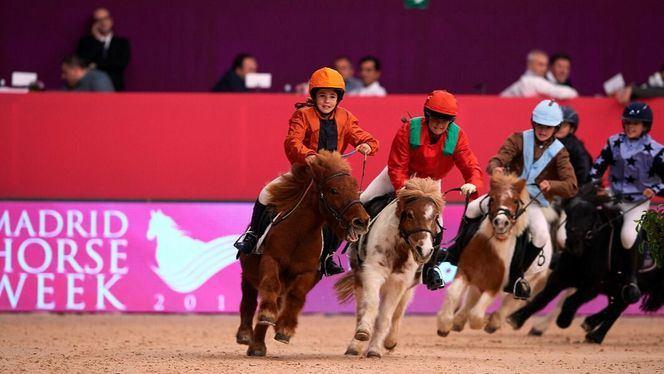 La VI Edición de Madrid Horse Week ofrece a los niños el Pony Park
