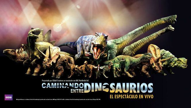 El espectáculo Caminando entre dinosaurios llega a España