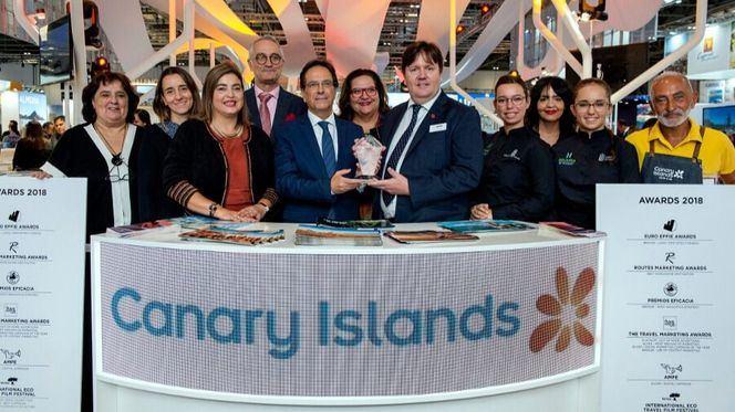 Canarias reciben el premio al mejor Pabellón de Negocios de la WTM de Londres