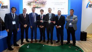 La Costa Blanca en la World Travel Market de Londres, como referente de turismo de golf