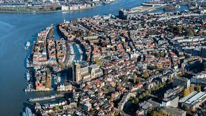 Dordrecht Ciudad sobre el agua