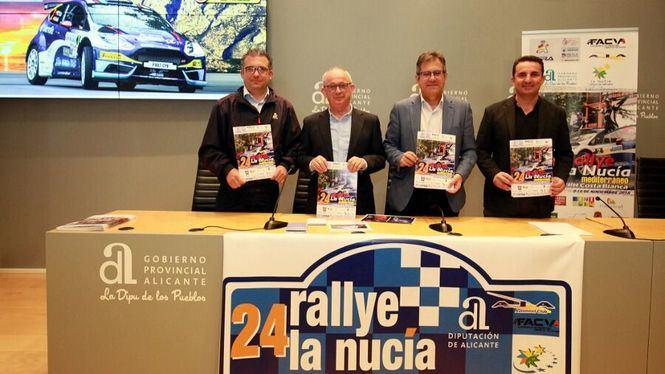 Alicante calienta motores para acoger el 24 Rallye Mediterráneo-La Nucía