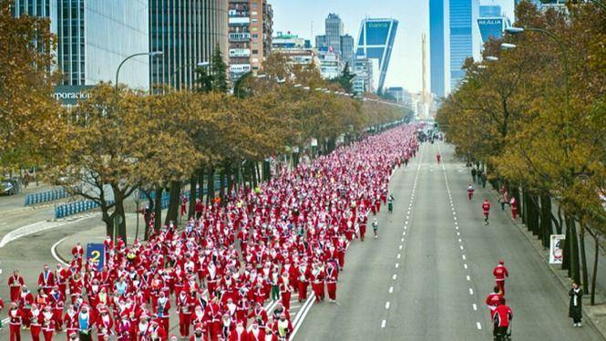 Conviértete en Papá Noel… y a correr por una causa solidaria
