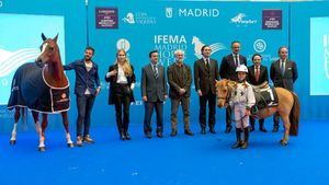 S. Serra; Helen Svedin; E. López-Puertas (IFEMA); Luis Cueto (Ayto. de Madrid); Álvaro Ballarín (CAM); Daniel Entrecanales (MHW); Jesús Núñez (UAX); J. Revuelta (RFHE