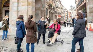 Madrid relanza su programa de visitas guiadas accesibles