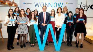 CaixaBank y Microsoft entregan los Premios Wonnow a 11 alumnas de carreras técnicas