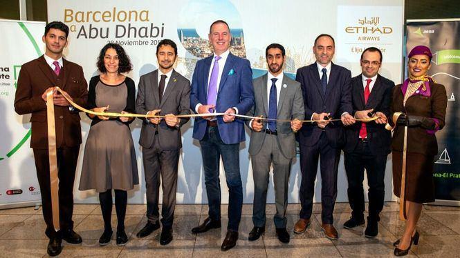 Etihad Airways lanza su vuelo directo Barcelona-Abu Dhabi