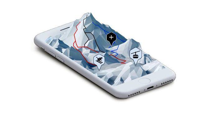 La comunidad de aplicaciones móviles para los amantes de los deportes de nieve