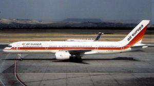 Air Europa celebra su 30 aniversario del primer vuelo transoceánico con un avión bimotor