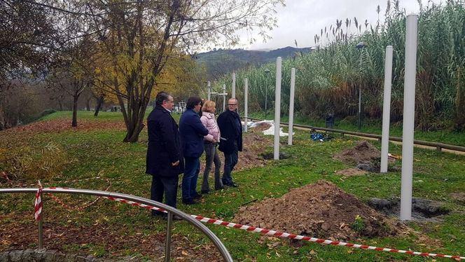 Nuevo espacio de ocio al aire libre en el área termal de la ciudad de Ourense