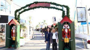 Puerto Banús abre su primer mercadillo artesanal de Navidad