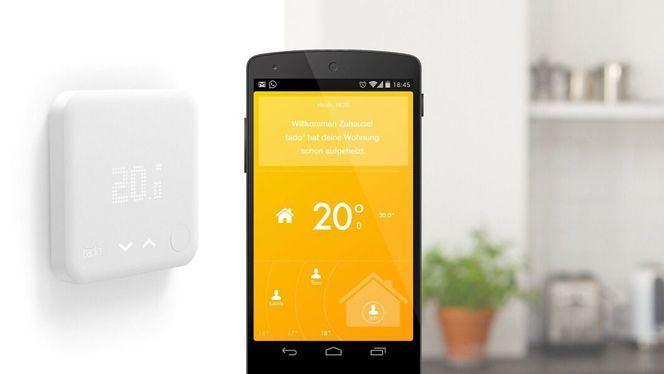 La temperatura perfecta con el termostato Inteligente de tado°