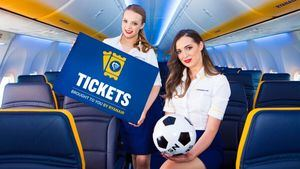 Ryanair pone a la venta entradas para eventos deportivos en su página