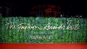 Swarovski, sponsor oficial de los Fashion Awards 2018