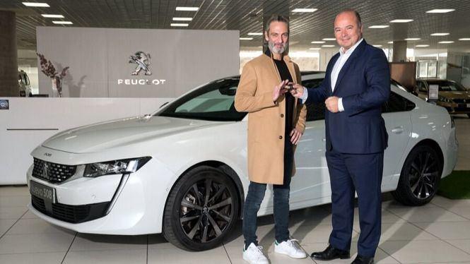 Ernesto Alterio, embajador exclusivo del nuevo Peugeot 508