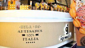 Los gofres burbuja de queso, jamón o pulpo son la nueva especialidad igo waffle