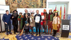 Turismo del Ayuntamiento recibe el primer manifiesto de la Navidad en Europa