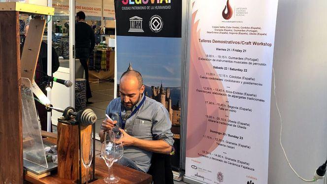 Segovia participa en la I Feria de Artesanía de Ciudades Patrimonio Mundial