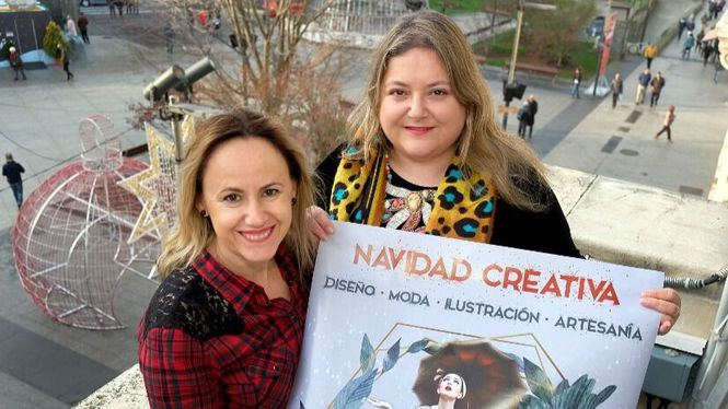 Diseñadores, artesanos y otros creadores en Navidad Creativa de Santander
