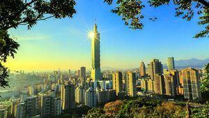 Taipéi 101 da la bienvenida a 2019 con un espectáculo de luces y fuegos artificiales