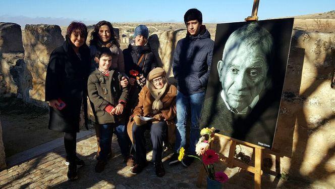Homenaje en Segovia al maestro titiritero Francisco Peralta