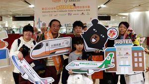 Taiwán registra 11 millones de visitantes foráneos por primera vez
