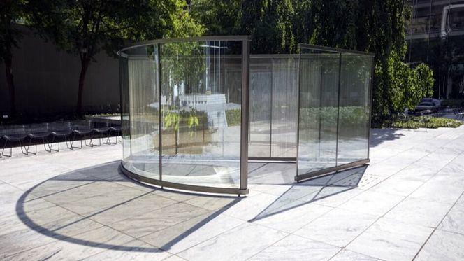 Exposición individual de Dan Graham en la Galería Cayón de Madrid