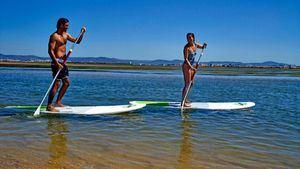 Paddle surf en Barrinha