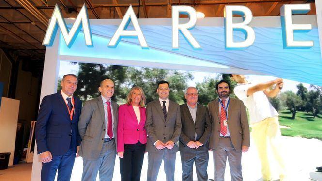 El presidente andaluz destaca la excelencia de la oferta turística de Marbella