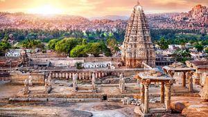 Templo Virupaksha. Hampi, Karnataka