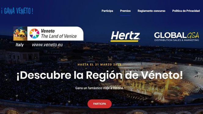 Hertz España Regione del Veneto presentan un acuerdo para promocionar la región italiana