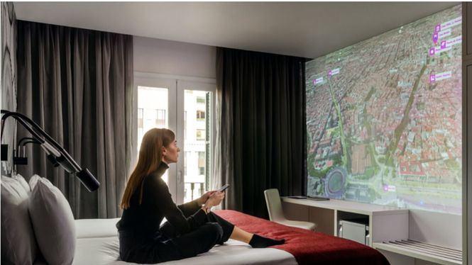 Eurostars Hotel reinventa la habitación de hotel con su plataforma interactiva Shine